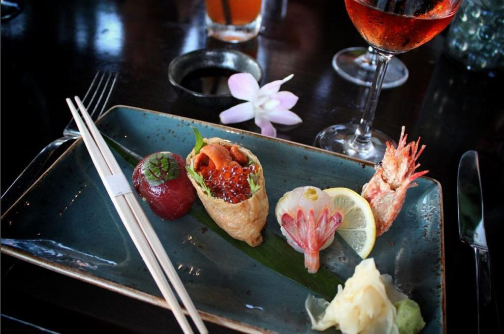 Japengo is famed for having one of the best sushi and Asian cuisine on the island.