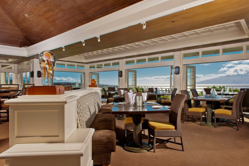 Plantation House Restaurant provides breathtaking ocean and sunset views.