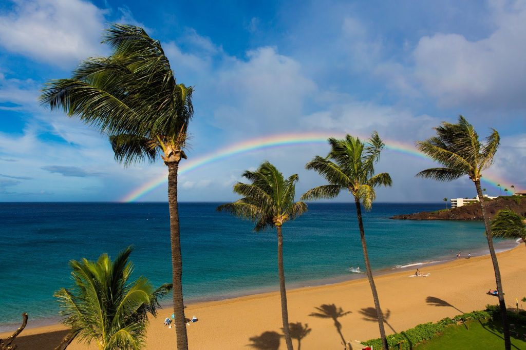 Kaanapali Beach is one of West Maui's signature beaches.