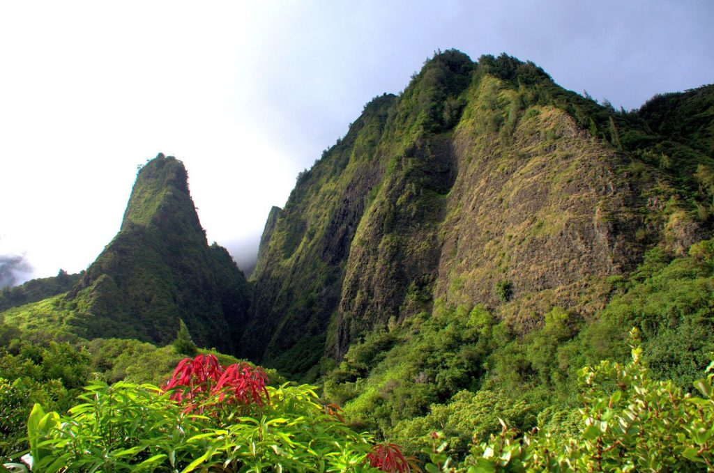 Iao Valley is for visitors looking for a gentle hike and a scenic view of 'Iao Needle