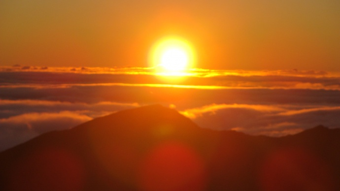 Haleakala sunrise, file Photo by Wendy Osher of MauiNow.com.