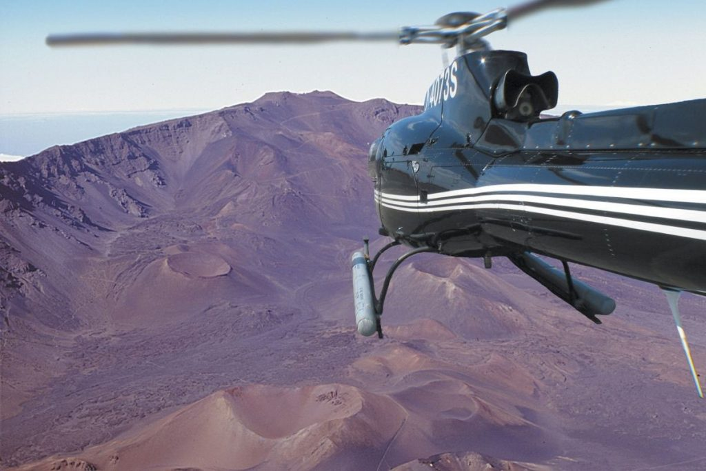 Sunshine Helicopters offers three amazing Maui tours ­ Hana Haleakala Tour, Circle Island Deluxe Tour, and Molokai Deluxe Tour.  Image Source