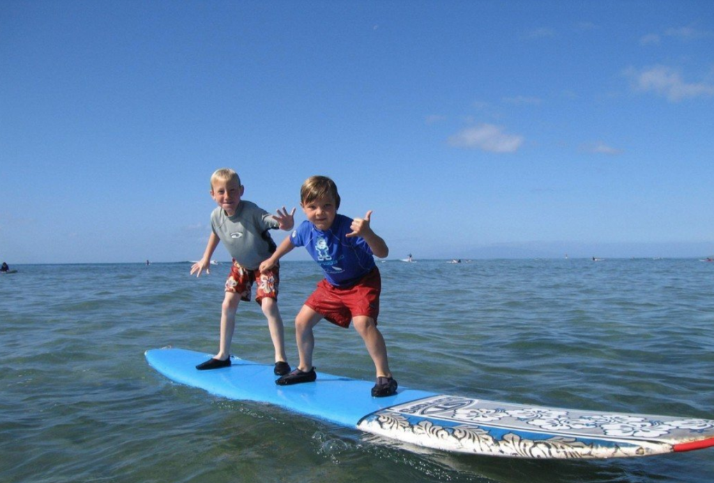 Make sure to rent a surfboard or take some surfing lessons from Maui's myriad of family owned and operated businesses.